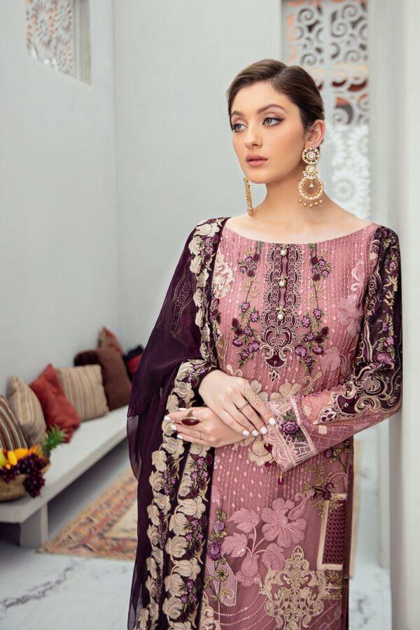Rangoon Ladies Embroidered Chiffon Collection Vol 6