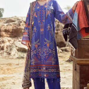 Embroidered Viscos Linen By Ramsha