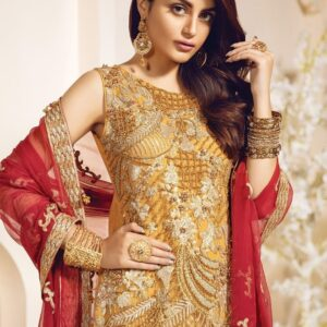 Embroidered Bridal Net Collection