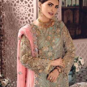 Embroidered Net Hand Made Wedding Collection